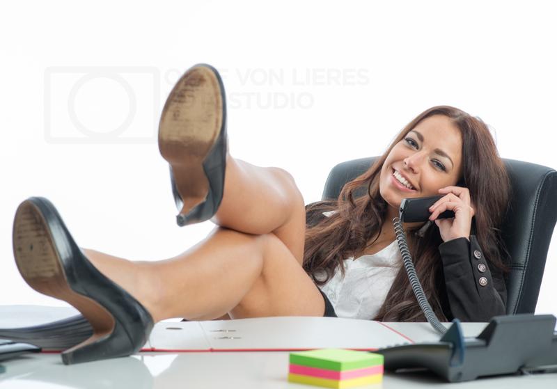 im Büro privat telefonieren