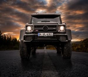 Mercedes G63 4x4